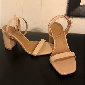 asos nude heels (FINAL PRICE)